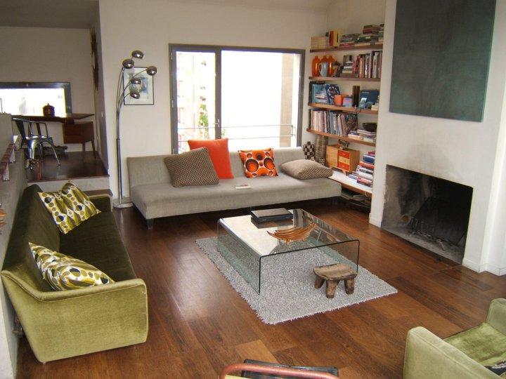 Living room in Paris