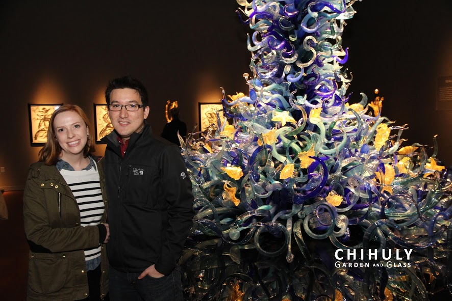 Chihuly Garden and Glass Portrait