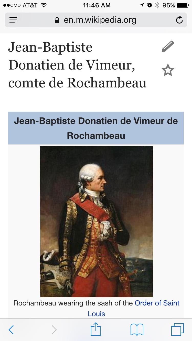 Wiki: Jean-Baptiste Donatien de Vimeur, comte de Rochambeau