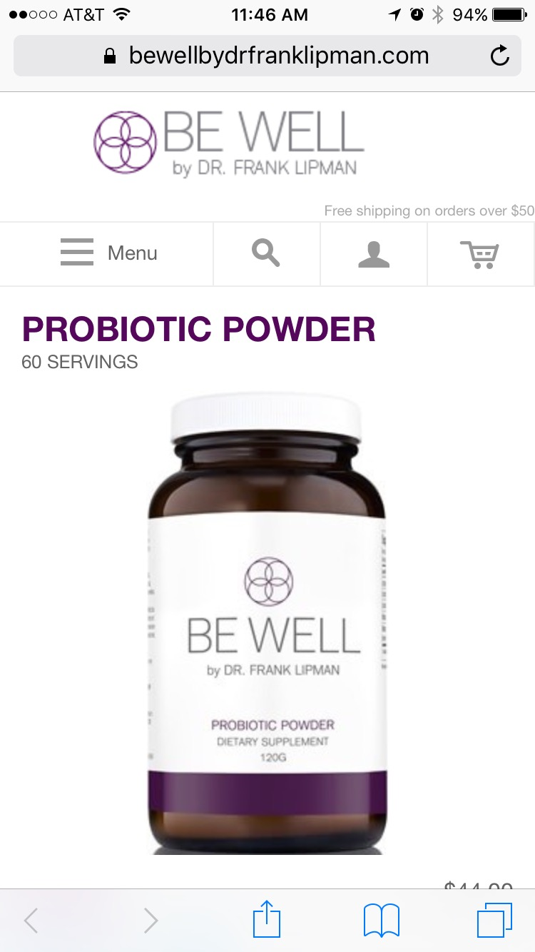 Be Well Probiotic Powder